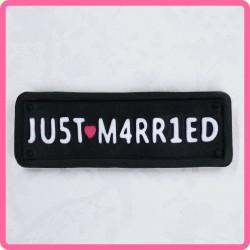 MOLDE PLACA JUST MARRIED KSD