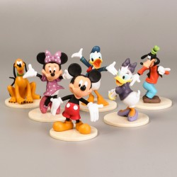SET 6 FIGURAS PVC MICKEY & FRIENDS PEANA