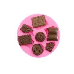 MOLDE 7 GALLETAS Y CHOCOLATES