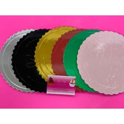 PACK 6 DISCOS EXTRA FUERTES 20 CM NEW COLOR ONDAS