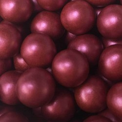 CHOCOBALLS GRANATE METALIZADO 12 MM BOTE GR