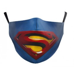 MASCARILLA TELA SUPERMAN ADULTO