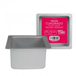 SQUARE CAKE PAN 20 C X 10 CM ALTURA AZ