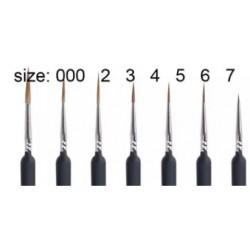 SET 7 PINCELES PRECISION 000, 2, 3, 4, 5, 6 Y 7