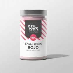 ROYAL ICING ROJO 150 GR AZUCREN