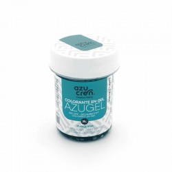 COLORANTE AZUL TURQUESA TEAL AZUGEL 35 GR AZUCREN