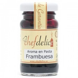 AROMA EN PASTA FRAMBUESA 50 GR CHEFDELICE