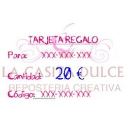 TARJETA REGALO 20 €