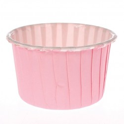 BAKING CUP COLOURED 24 ROSA