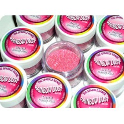 RAINBOW DUST CRYSTAL CANDY PINK