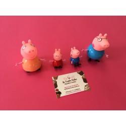 SET 4 FIGURAS PEPPA PIG