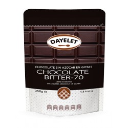 CHOCOLATE BITTER 70% 350G