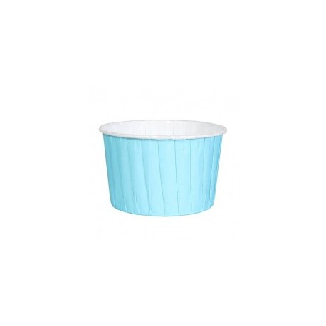 BAKING CUP COLOURED 24 AZUL