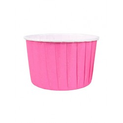 BAKING CUP COLOURED 24 FUCSIA
