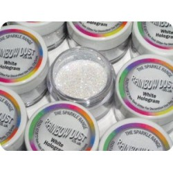 RAINBOW DUST WHITE HOLOGRAM