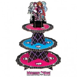 STAND CARTON MONSTER HIGH 24 CUPCAKES W