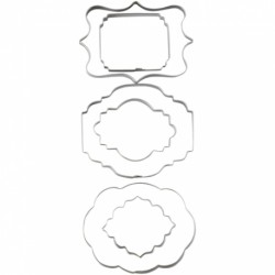 SET 6 PLACAS WILTON