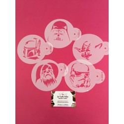 SET STENCILS STAR WARS GRANDES