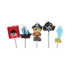 SET VELAS PIRATAS