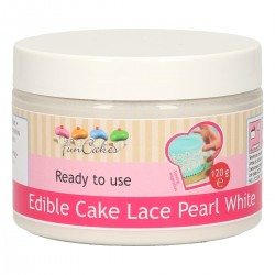 CAKE LACE PEARL WHITE READY TO USE FC