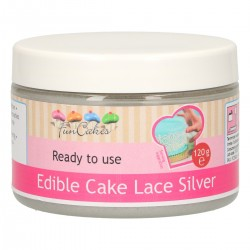 CAKE LACE SILVER READY TO USE FC