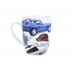 TAZA COCHES MAN STYLE