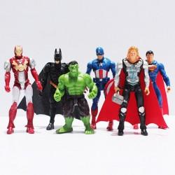 6 FIGURAS SUPERHEROES
